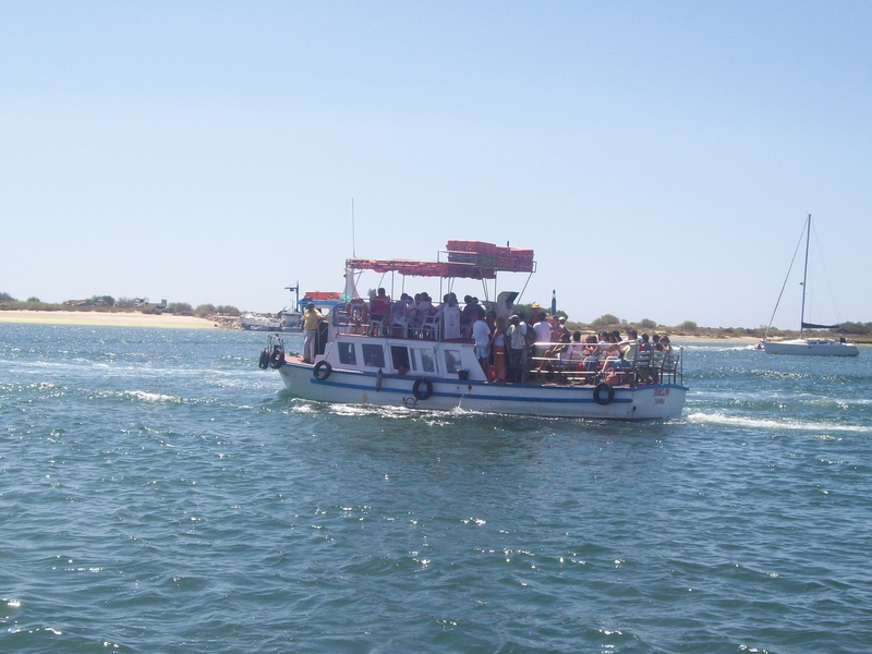 Ferry to Ila de Tavira Beach