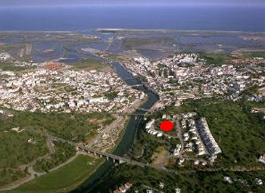 Location in Tavira.
